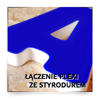 Styrodur połączony z plexi